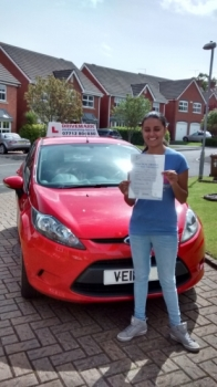 Well done Amandeep Passed your driving test first time today with only 2 minor faults Great result Drive Safe