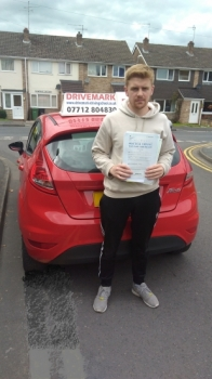 Well done Ben Passed your test first time today with only 3 minor faults All of the hard work was worth it Take care Drive Safe