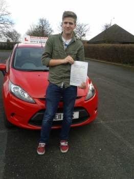 Congratulations Callum on passing your driving test first time today with a really strict examiner. You stuck with it and got your driving licence. Well done mate and drive safe!...