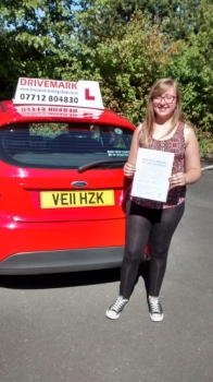 Congratulations Kath Passed your driving test first time Today Well done all of the hard work was worth it Drive Safe