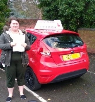 Well done Milly Passed you test today with only 1 minor fault What a great start to 2018 Drive Safe