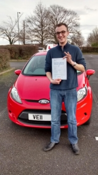 Well done Ricky. After a lot of hard work and determination you passed your driving test today. All the best mate. Drive Safe!...