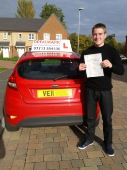 Well done Rob passed your driving test today. Only 3 minor faults and with the strictest examiner in Worcester. Good luck with the pilot training for the RAF. Drive Safe!