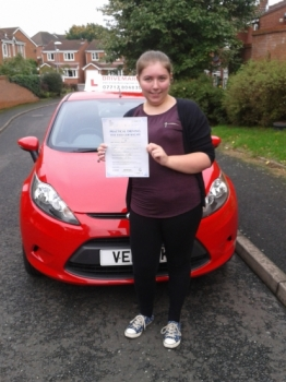 Congratulations Steph. Passed your driving test first time today. Told you that you would get there in the end. Well done and drive safe!...