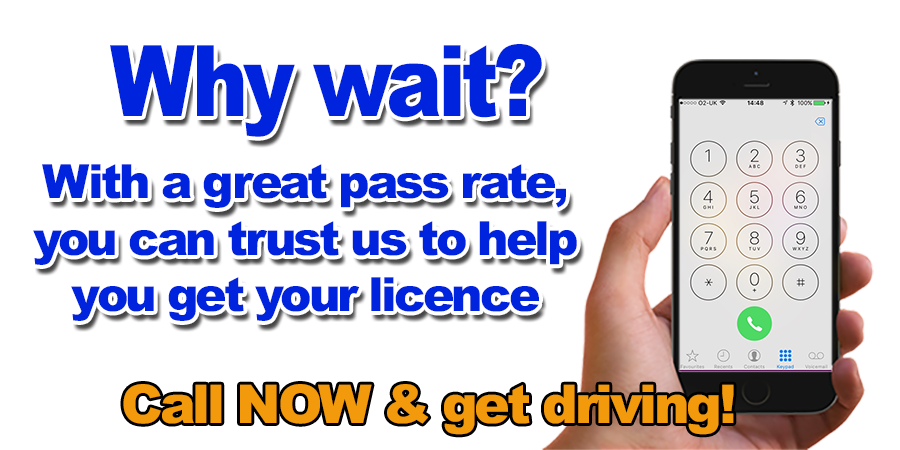 Driving lessons with local driving school in Malvern, FIRST 2 HOURS ONLY £30.