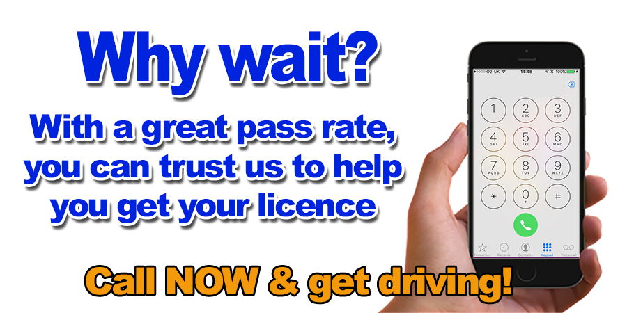 Driving lessons with Drivemark Driving School