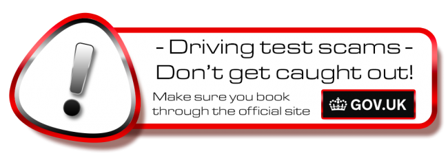 Don´t get scammed! book your theory or driving test in Worcester on the .gov site